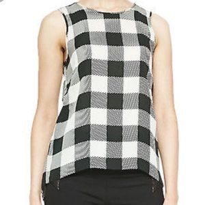 Rag & Bone Harper Plaid Silk Tank Top
